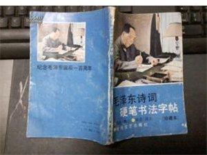 毛泽东诗词硬笔书法字帖