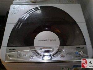 出售自用三洋6升九成新以上全自动洗衣机一台