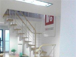 中鑫上城写字楼精装126平1600元可注册公司两台空调
