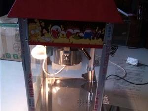 转让9成新爆米花机和爆米花桶。