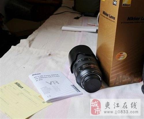 尼康70 300VR出售 诚心的买家联系
