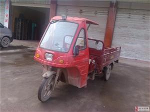 两米货箱载货三轮车自己改装油电两用急用钱转让
