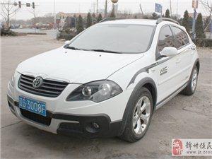 出售10款中华骏捷Cross白色1.5MT豪华版