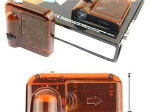 无线迎宾灯感应车门投影镭射迎宾灯免接线免打孔改