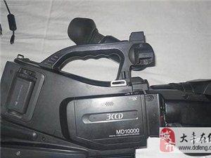 两台松下MD10000肩扛婚庆摄像机出售