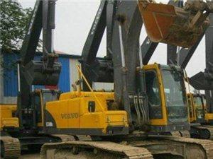 挖掘机 沃尔沃挖掘机 2012年上牌