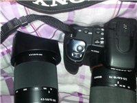 出售九成新索尼单反相机一台。