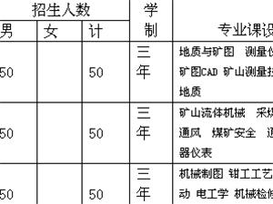 水矿技工学校招生简章
