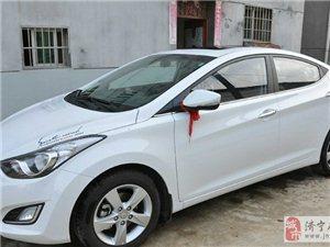 转让2013款北京现代朗动1.6自动尊贵型