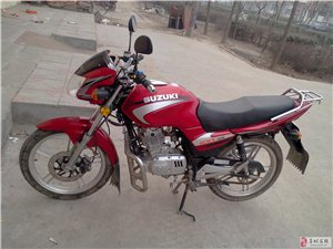 出售九成新铃木125摩托车