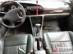 低价出售01年9月的尼桑蓝鸟高档轿车