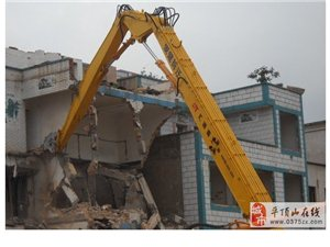 高楼拆除加长拆楼臂挖掘机定做厂家