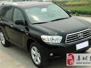 转让丰田汉兰达2.7L豪华版售价3.2万