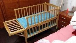 实木无漆儿童床