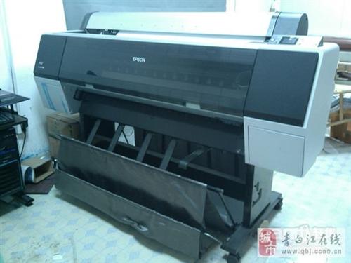 爱普生9908EPSON大幅面写真打印机 98成新