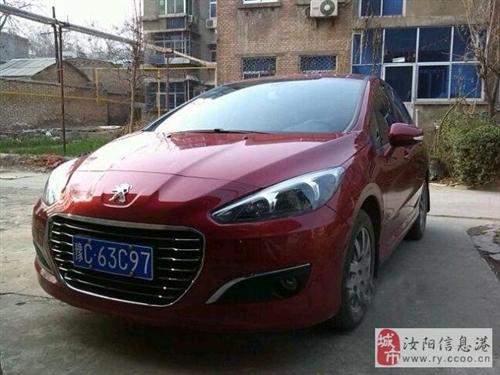 标致308 2012款 1.6L 自动优尚型 红色
