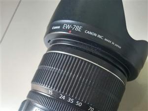 出售99新佳能60d15-85镜头可小刀