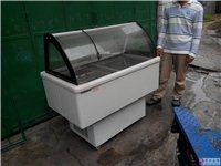 二手处理冰箱展示柜以及硬冰机