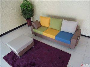 廠家直銷布藝沙發,可定制。送貨上門
