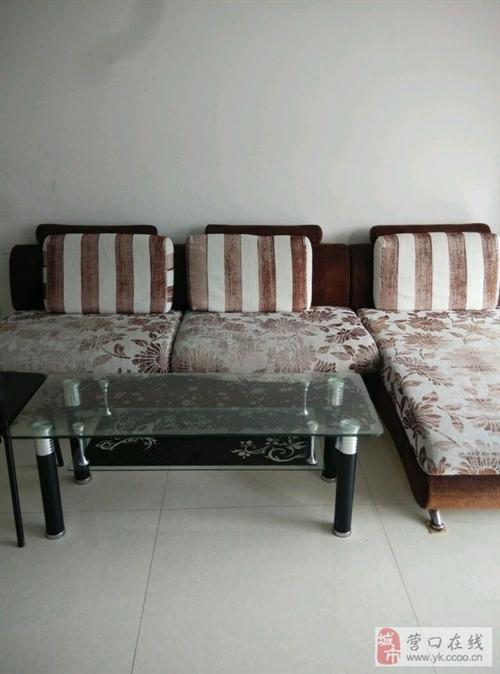自家用沙发!七成新,就是沙发套有点脏!海绵都是好的