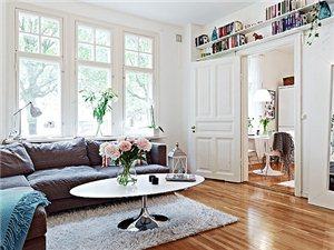 小空间的充分利用 50平米哥德堡公寓欣赏