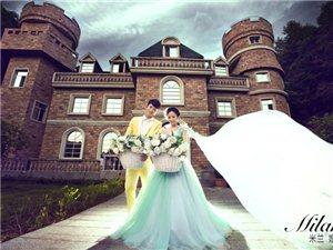 米兰婚纱仙女湖拍摄