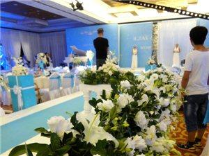 蓝色主题豪华婚礼