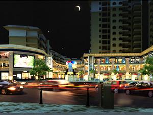 洋人街�物中心