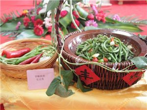 青椒豉油长豆角