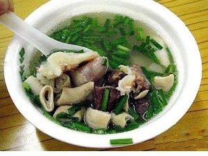 岳池羊杂汤