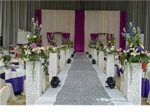 紫罗兰婚礼布置
