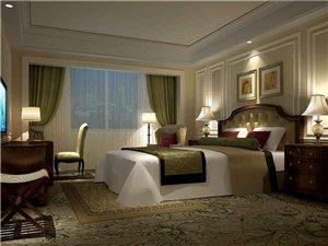 开封未来国际温泉酒店九层套房卧室