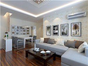 现代简约-二居室-装修案例