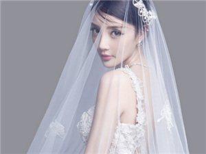 辣妈李小璐婚纱杂志大片优雅动人