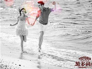 威海维多利亚婚纱摄影海景沙滩