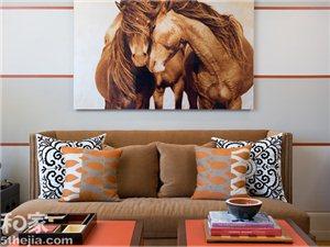 8款马年主题背景墙设计