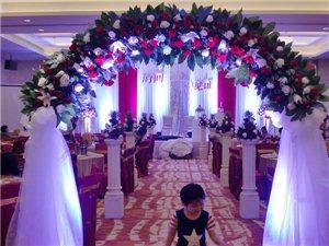 高端婚礼舞台沙曼