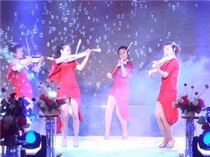 现场乐团表演