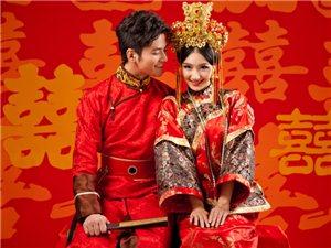 最新古装婚纱照之唐朝贵妃装