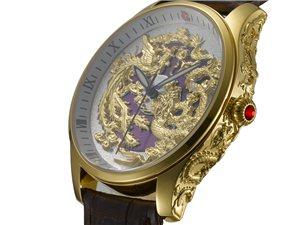 天缘美全球首创中国龙凤文化情侣腕表每个仅售2999元