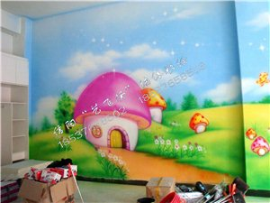艺飞扬墙体彩绘